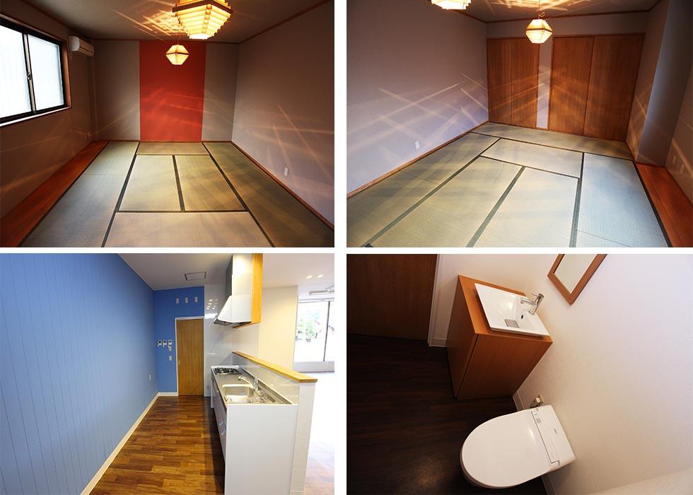 和室/キッチン/トイレ