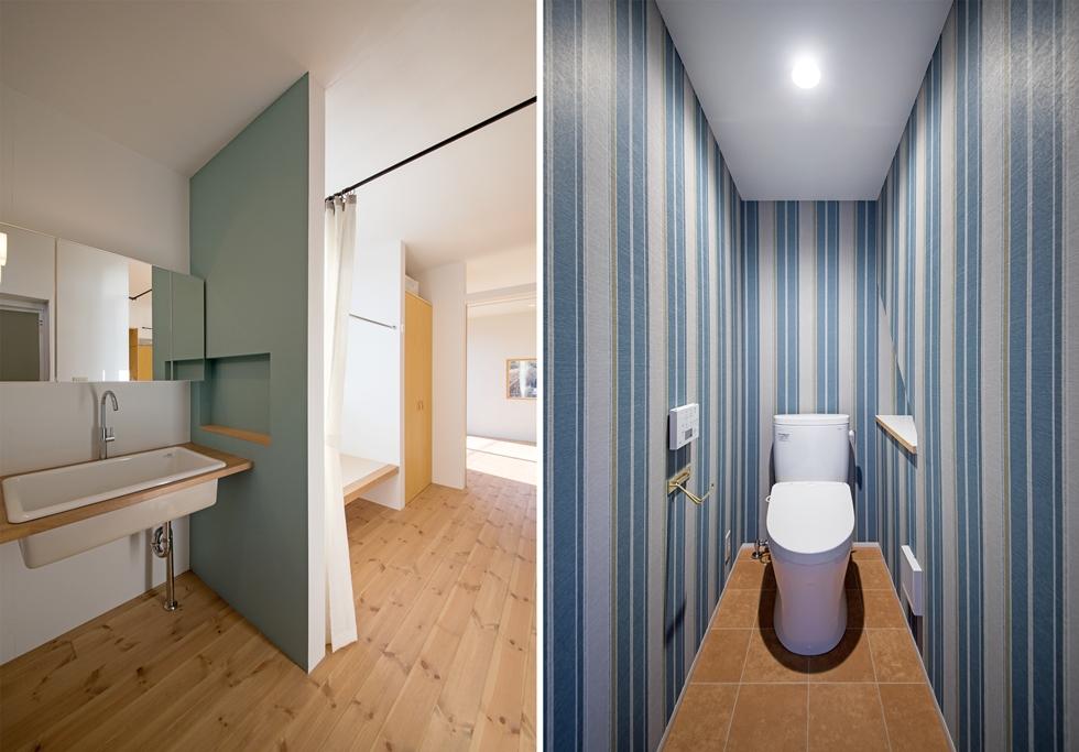 033 1階 洗面室-tile